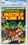 Bronze Age (1970-1979):Superhero, Special Marvel Edition #15 Master of Kung Fu (Marvel, 1973) CGC NM 9.4 White pages....