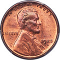 Lincoln Cents, 1925-D 1C MS65+ Red PCGS....
