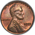 Lincoln Cents, 1955 1C Doubled Die Obverse, FS-101, MS64 Red and Brown PCGS....