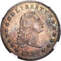 1795 $1 Flowing Hair, Three Leaves, B-7, BB-18, R.3, MS62 NGC....(PCGS# 39973)
