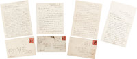 (Abraham Lincoln): Samuel Bland Arnold Series of Four Autograph Letters Signed Lincoln Conspiracy-Assassination