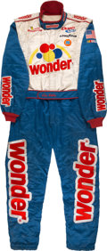 Miscellaneous Collectibles:General, 2006 Will Ferrell Worn Fire Suit from Talladega Nights: The Ballad of Ricky Bobby. ...