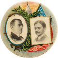 "Political:Pinback Buttons (1896-present), Wilson & Marshall: A Simply Exquisite 1 1/4"" Jugate By American Artworks...."