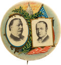 "Political:Pinback Buttons (1896-present), Taft & Sherman: Exquisite And Elegant 1 1/4"" Jugate By American Artworks...."