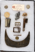 Military & Patriotic:Indian Wars, George A. Custer: Little Big Horn Battlefield Relics....