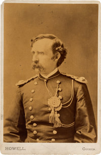 George A. Custer: Cabinet Card Presented by Libby Custer