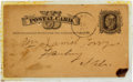 Autographs:Celebrities, [Jesse James?]: An 1879 Note Purported to Be in His Hand....