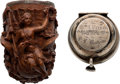 Miscellaneous:Ephemera, Battle of Chickamauga: Very Impressive Elaborately Carved Presentation Pipe....