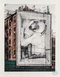 Prints & Multiples, JR (b. 1983). Ballerina in Crate East Village, 2019. Lithograph in colors on Marinoni white paper. 18-1/8 x 14-1/4 inche...