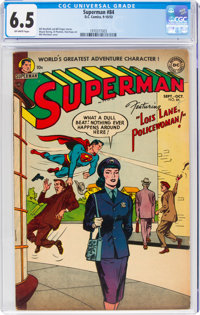 Superman #84 (DC, 1953) CGC FN+ 6.5 Off-white pages