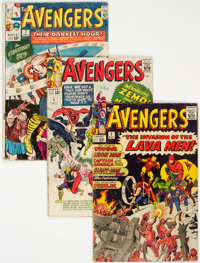The Avengers Group of 85 (Marvel, 1964-72) Condition: Average GD/VG.... (Total: 85 Comic Books)