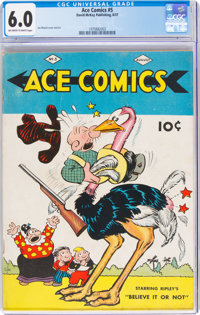 Ace Comics #5 (David McKay Publications, 1937) CGC FN 6.0 Off-white to white pages