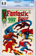 Silver Age (1956-1969):Superhero, Fantastic Four #73 (Marvel, 1968) CGC VF 8.0 Off-white to white pages....