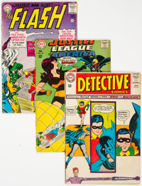 DC Silver Age Superhero Comics Group of 32 (DC, 1960s) Condition: Average GD+.... (Total: 32 Comic Books)