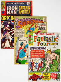 Silver-Modern Age Comics Box Lot (Various Publishers, 1960s-80s) Condition: Average FR.... (Total: 2 Box Lots)