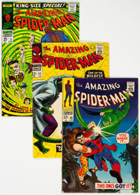 The Amazing Spider-Man Group of 15 (Marvel, 1965-71) Condition: Average FN.... (Total: 15)