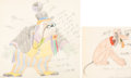 Animation Art:Production Drawing, Society Dog Show Pluto Animation Col...