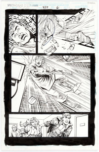 Sal Buscema and John Stanisci The Spectacular Spider-Man #237 Story Page 6 Original Art (Marvel, 1996)