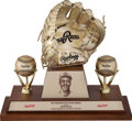 Baseball Collectibles:Others, 1991 Gold Glove Award Presented to Devon White....