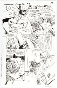 John Byrne Superman & Batman Generations #4 Story Page 35 Original Art (DC, 1999)