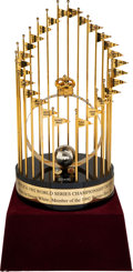 Baseball Collectibles:Others, 1992 Toronto Blue Jays World Series Championship Large Format Trophy from The Devon White Collection....