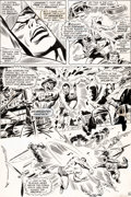 Original Comic Art:Panel Pages, John Buscema and Frank Giacoia Sub-Mariner #1 Story Page 6 Original Art (Marvel, 1968).