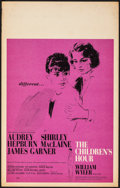 """The Children's Hour & Other Lot (United Artists, 1962). Fine/Very Fine. Window Cards (3) (14"""" X 22""""). Dram..."""