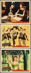 "Movie Posters:Musical, Pal Joey (Columbia, 1957). Fine/Very Fine. Lobby Cards (3) (11"" X 14"") & German Lobby Cards (6) (11.75"" X 9.25""). Musical.. ... (Total: 9 Items)"