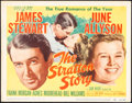 """Movie Posters:Sports, The Stratton Story (MGM, 1949 & R-1956). Folded, Fine/Very Fine. Title Lobby Card (11"""" X 14"""") & One Sheet (27"""" X 41""""). Sport... (Total: 2 Items)"""