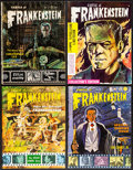 """Movie Posters:Horror, Castle of Frankenstein (Gothic Castle Publishing, 1961-1966). Fine/Very Fine. Magazines (8) (8.5"""" X 11""""). Horror.. ... (Total: 8 Items)"""