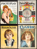 "Movie Posters:Miscellaneous, Photoplay & Other Lot (Photoplay, 1926). Fine+. Magazines (4) (Multiple Pages, 8.5"" X 11.5"" & 9.5"" X 12.5""). Miscellaneous.... (Total: 4 Items)"
