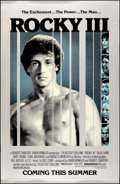 "Movie Posters:Sports, Rocky III (United Artists, 1982). Rolled, Very Fine. Mylar One Sheet (26"" X 40"") Advance. Sports.. ..."