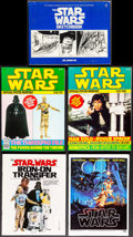 Movie Posters:Science Fiction, Star Wars Official Poster Monthly & Other Lot (Paradise Press, 1970s/1980s). Very Fine. Fold-Out Magazine Posters (7) (Folde... (Total: 10 Items)