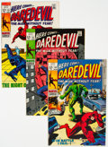 Bronze Age (1970-1979):Superhero, Daredevil Group of 63 (Marvel, 1969-83) Condition: Average NM-.... (Total: 63 Comic Books)