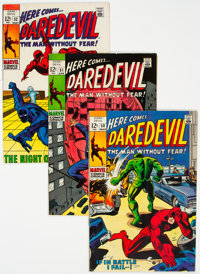 Daredevil Group of 63 (Marvel, 1969-83) Condition: Average NM-.... (Total: 63 Comic Books)