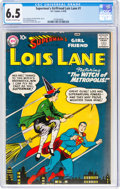 Silver Age (1956-1969):Superhero, Superman's Girlfriend Lois Lane #1 (DC, 1958) CGC FN+ 6.5 Off-white to white pages....