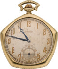 Baseball Collectibles:Others, 1923 New York Yankees World Series Championship Pocket Watch Presented to Wally Pipp....