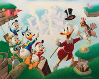 Carl Barks Return to Plain Awful Signed Limited Edition Lithograph Print #10/345 (Another Rainbow, 1989).... (Total: 3 I...