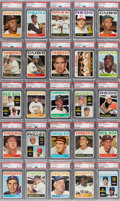 Baseball Cards:Sets, 1964 Topps Baseball PSA-Graded Complete Master Set (587+2) - Every Card is NM-MT to MINT! ...