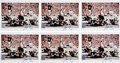 Football Collectibles:Photos, 1990's Walter Payton Signed Photographs Lot of 12. ...