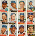 Autographs:Sports Cards, Signed 1953 Topps Baseball Collection (98). ...