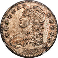 1829 50C Small Letters, O-112a, R.2, MS65+ NGC....(PCGS# 39796)