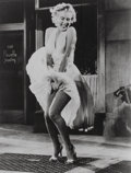 Photographs, 20th Century Fox. The Seven Year Itch, Marilyn Monroe, 1955. Gelatin silver, printed later. 8-1/2 x 6-1/2 inches (21.6 x...