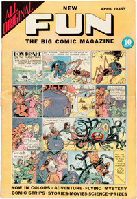 New Fun Comics #3 (DC, 1935) Condition: VG+