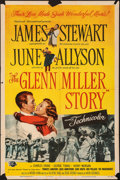 "Movie Posters:Drama, The Glenn Miller Story (Universal International, 1954). Folded, Fine. One Sheet (27"" X 41""). Reynold Brown Artwork. Drama.. ..."