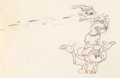 Animation Art:Production Drawing, Mickey's Circus Mickey Mouse and Donald Duck Animation Drawing (Walt Disney, 1936)....