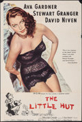 """Movie Posters:Comedy, The Little Hut (MGM, 1957). Folded, Fine. Trimmed One Sheet (27"""" X 39.75""""). Comedy.. ..."""