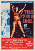 "Movie Posters:Adventure, The Living Idol (MGM, 1956). Folded, Very Fine-. Australian One Sheet (27"" X 40""). Adventure.. ..."