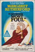 "Movie Posters:Mystery, Murder Most Foul (MGM, 1964). Folded, Very Fine-. Australian One Sheet (27"" X 40""). Mystery.. ..."