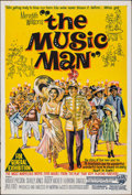 """Movie Posters:Musical, The Music Man (Warner Bros., 1962). Folded, Very Fine-. Australian One Sheet (27"""" X 40""""). Musical.. ..."""